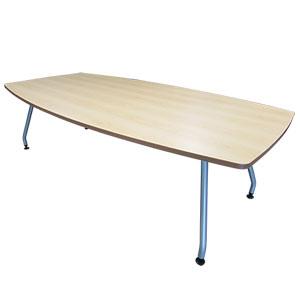 会議テーブル 舟形天板